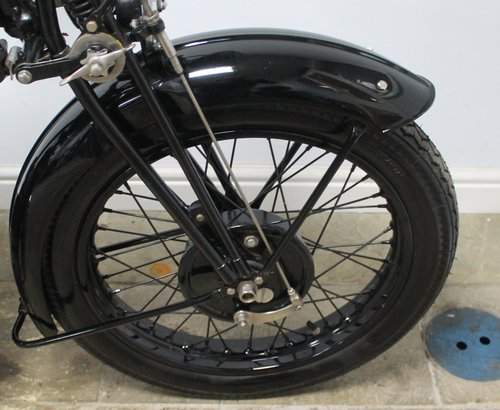 1936 BSA 500 cc S/V W6 Only produced for one year  SOLD (picture 3 of 6)