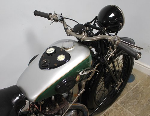 1936 BSA 500 cc S/V W6 Only produced for one year  SOLD (picture 4 of 6)