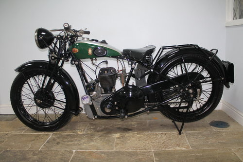 1936 BSA 500 cc S/V W6 Only produced for one year  SOLD (picture 5 of 6)