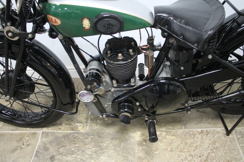 1936 BSA 500 cc S/V W6 Only produced for one year  SOLD (picture 6 of 6)