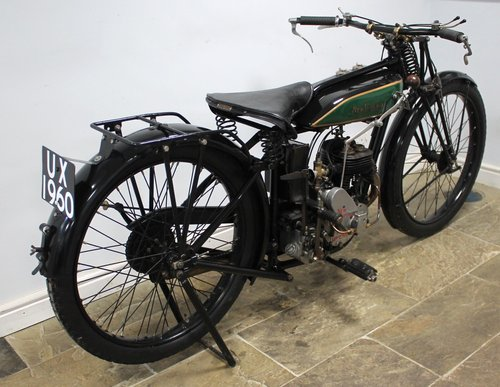 1929 New Imperial Standard Semi Sports 350 cc 3.50 hp SOLD (picture 5 of 6)