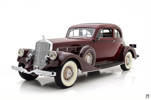 1935 PIERCE ARROW MODEL 1245 SILVER ARROW COUPE For Sale (picture 1 of 6)