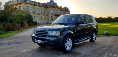 2006 LHD RANGE ROVER SPORT 2.7 TDV6 LEFT HAND DRIVE For Sale (picture 1 of 6)