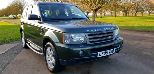 2006 LHD RANGE ROVER SPORT 2.7 TDV6 LEFT HAND DRIVE For Sale (picture 2 of 6)