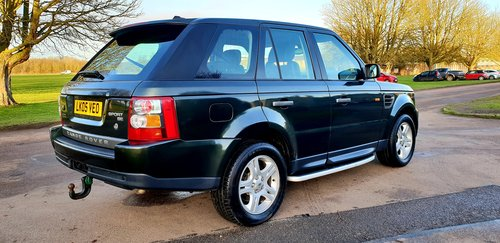 2006 LHD RANGE ROVER SPORT 2.7 TDV6 LEFT HAND DRIVE For Sale (picture 3 of 6)