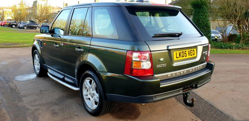2006 LHD RANGE ROVER SPORT 2.7 TDV6 LEFT HAND DRIVE For Sale (picture 4 of 6)