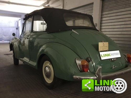Innocenti MORRIS MINOR 1000 CONVERTIBILE 1965 For Sale (picture 4 of 6)