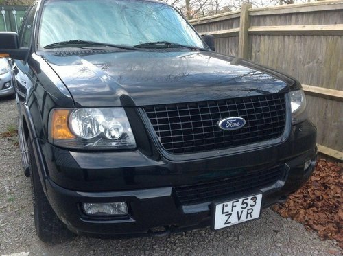 2004 ford expedition 4x4 eddy buaer 8 seater  For Sale (picture 1 of 6)