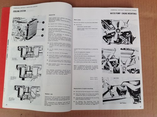 Alfa Romeo 105 & 115 Series Workshop Manual  For Sale (picture 2 of 2)