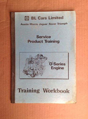 BL Cars O Series Engine Training Manual  For Sale (picture 1 of 2)