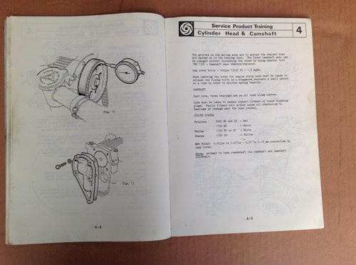 BL Cars O Series Engine Training Manual  For Sale (picture 2 of 2)