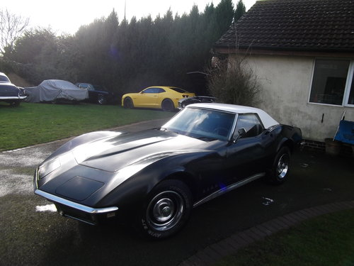 1968 Stingray Convertible, V8, 4 Speed Manual Gearbox, Hard Top  SOLD (picture 2 of 6)
