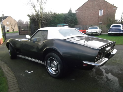 1968 Stingray Convertible, V8, 4 Speed Manual Gearbox, Hard Top  SOLD (picture 3 of 6)