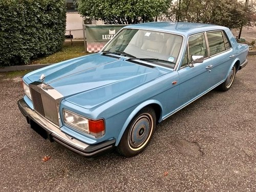 1988 ROLLS ROYCE - SILVER SPUR 1 RHD For Sale (picture 1 of 6)