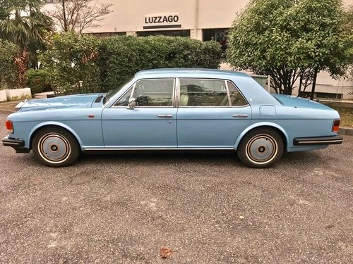 1988 ROLLS ROYCE - SILVER SPUR 1 RHD For Sale (picture 2 of 6)