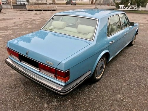 1988 ROLLS ROYCE - SILVER SPUR 1 RHD For Sale (picture 3 of 6)