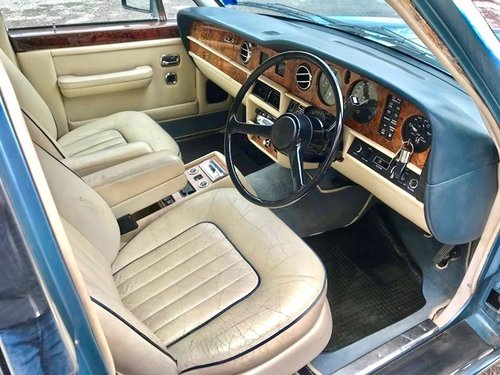 1988 ROLLS ROYCE - SILVER SPUR 1 RHD For Sale (picture 5 of 6)