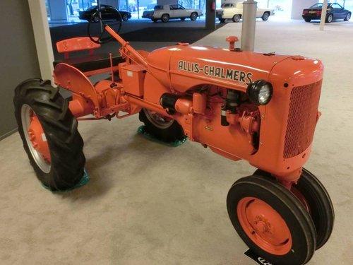 1950 Traktor Allis Chalmers Model C  For Sale (picture 1 of 6)