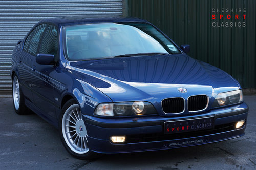 1998 Alpina B10 3.2 No.065, 112k, Blue, Grey Leather, Superb. SOLD (picture 1 of 5)