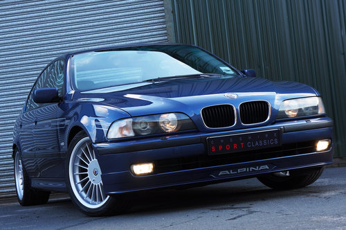 1998 Alpina B10 3.2 No.065, 112k, Blue, Grey Leather, Superb. SOLD (picture 2 of 5)