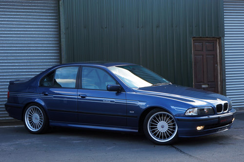 1998 Alpina B10 3.2 No.065, 112k, Blue, Grey Leather, Superb. SOLD (picture 3 of 5)
