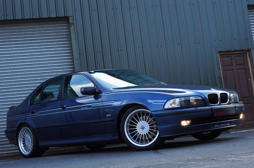 1998 Alpina B10 3.2 No.065, 112k, Blue, Grey Leather, Superb. SOLD (picture 4 of 5)