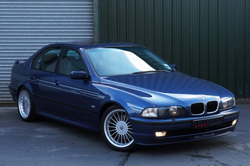 1998 Alpina B10 3.2 No.065, 112k, Blue, Grey Leather, Superb. SOLD (picture 5 of 5)