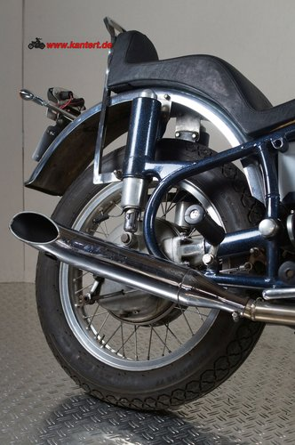1986 AME Chopper with BMW R 50 enginge, 490 cc, 24 hp For Sale (picture 5 of 6)