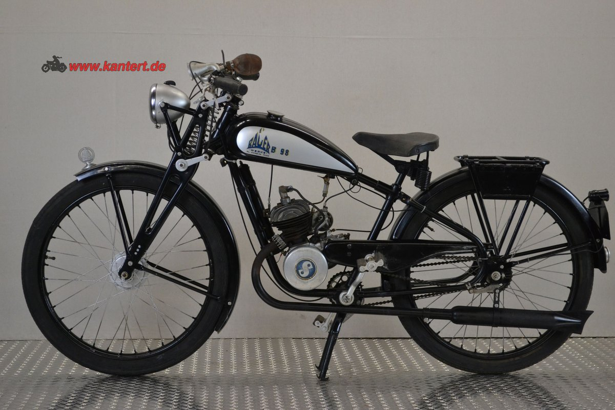 1940 Bauer Werke B 98, 98 cc, 3 hp For Sale (picture 1 of 6)