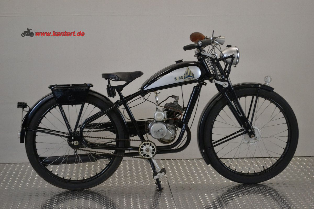 1940 Bauer Werke B 98, 98 cc, 3 hp For Sale (picture 2 of 6)