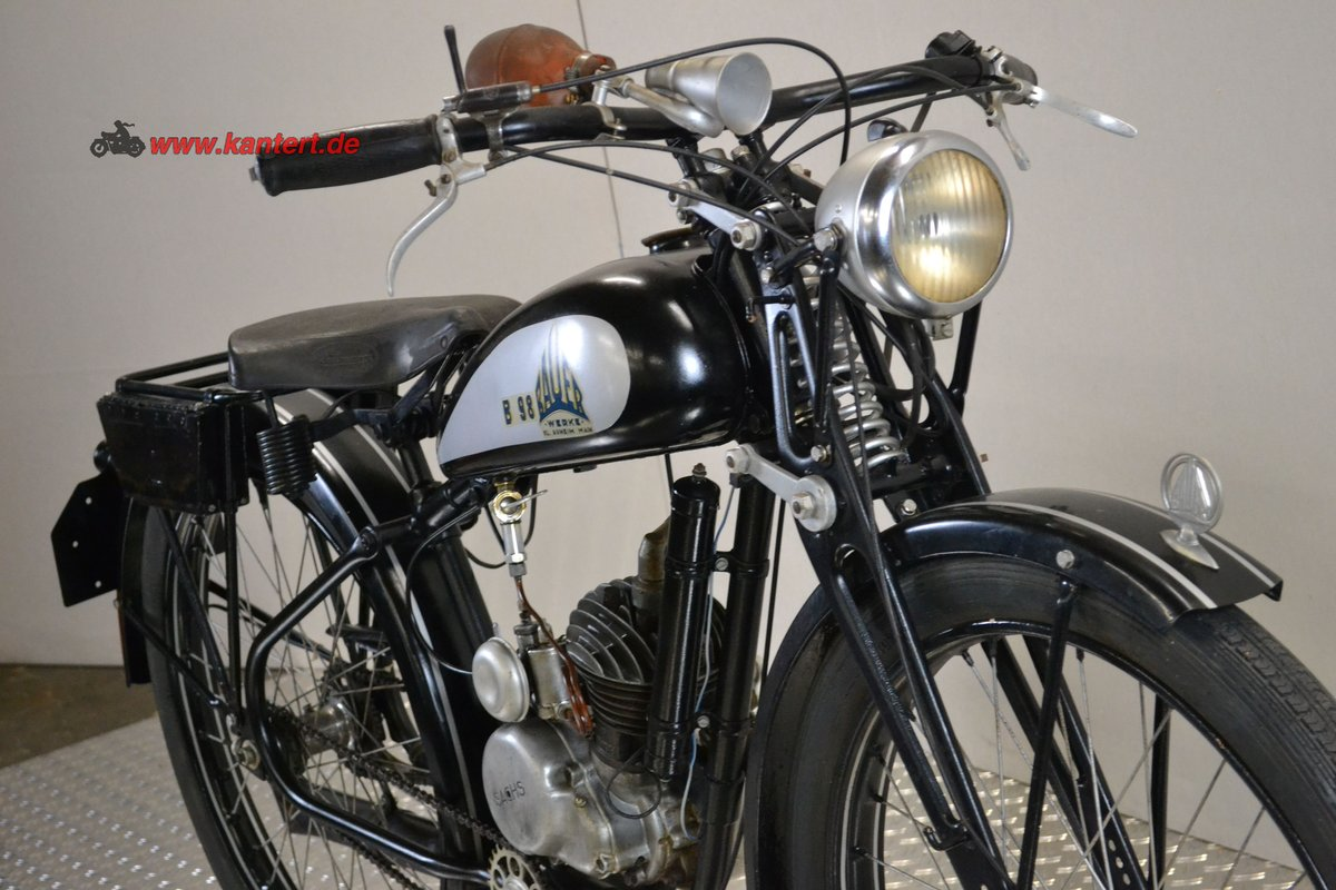 1940 Bauer Werke B 98, 98 cc, 3 hp For Sale (picture 3 of 6)