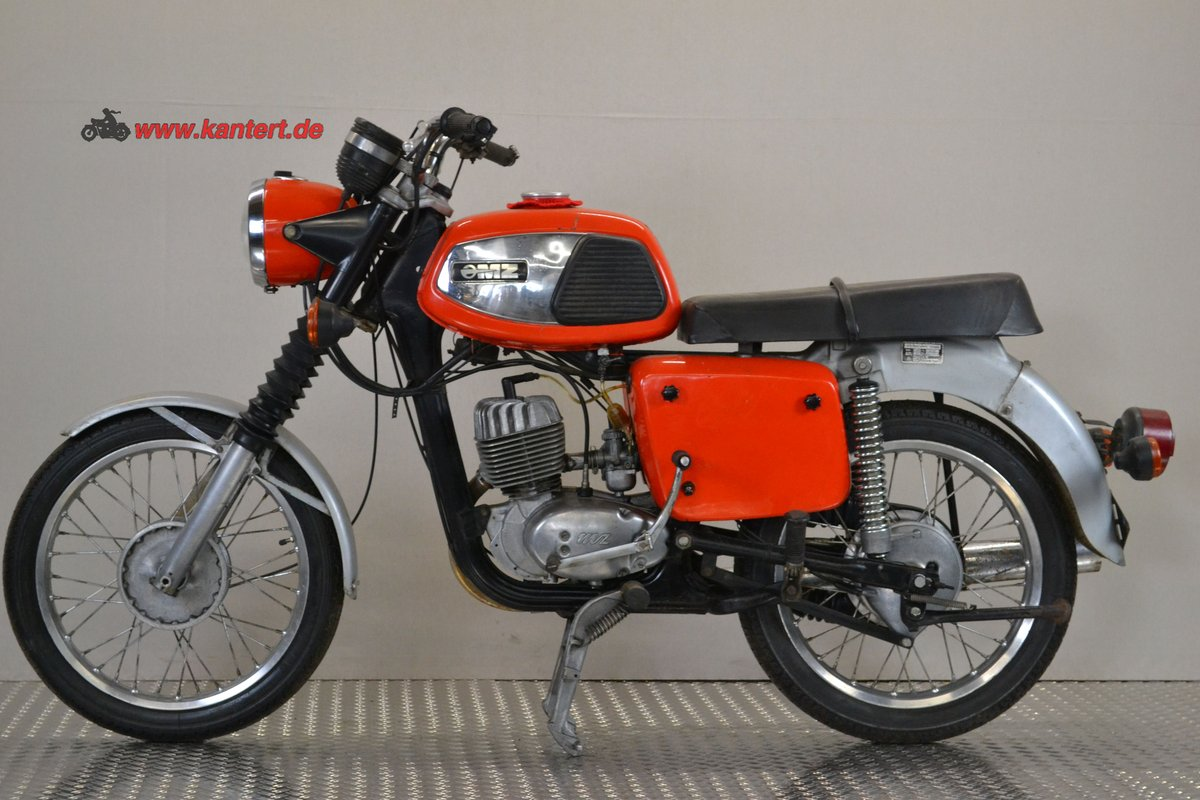 1982 MZ TS 125, 123 cc, 10 hp, 2800 km For Sale (picture 1 of 6)