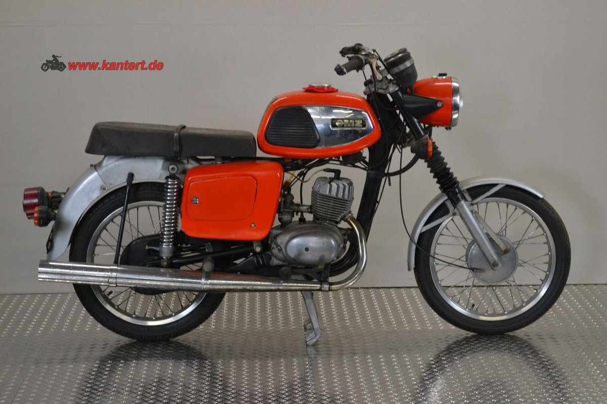 1982 MZ TS 125, 123 cc, 10 hp, 2800 km For Sale (picture 2 of 6)