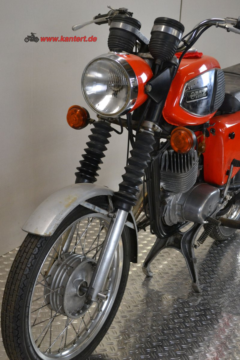 1982 MZ TS 125, 123 cc, 10 hp, 2800 km For Sale (picture 3 of 6)