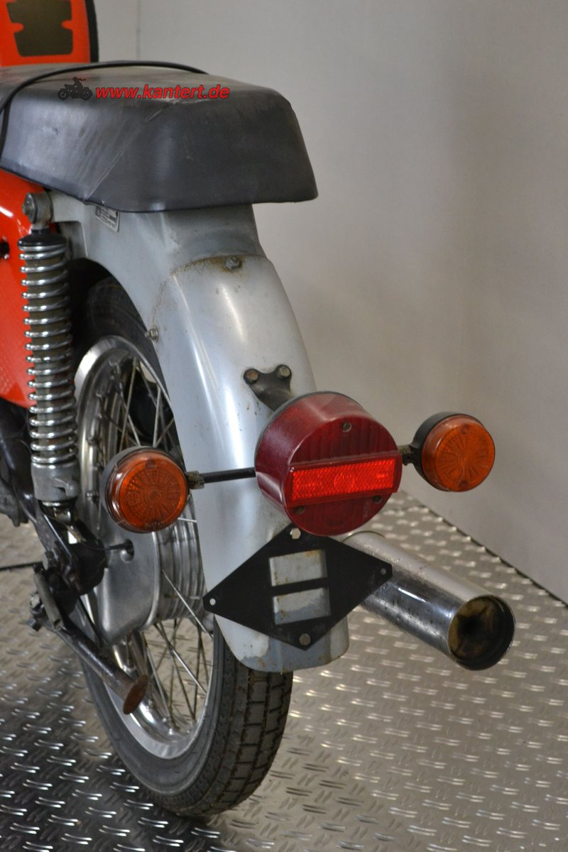 1982 MZ TS 125, 123 cc, 10 hp, 2800 km For Sale (picture 4 of 6)