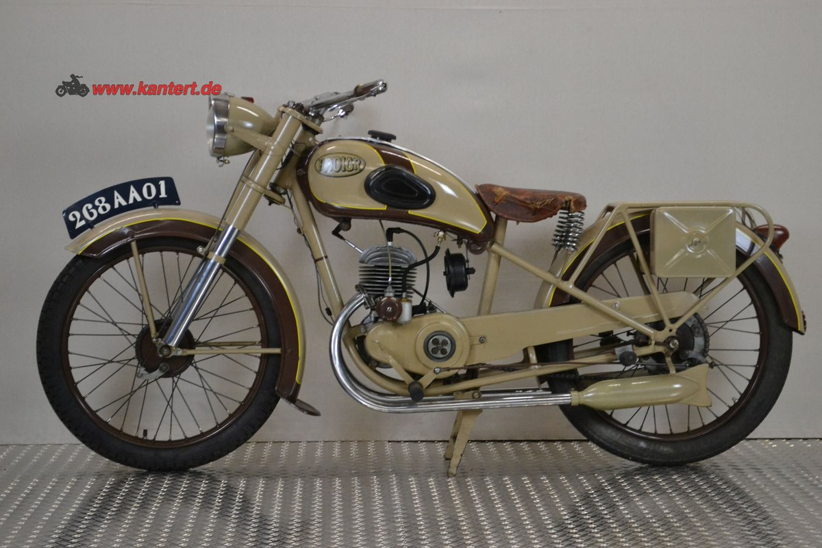 1950 Radior 125 cc, 7 hp, 2 stroke, 1 zyl For Sale (picture 2 of 6)