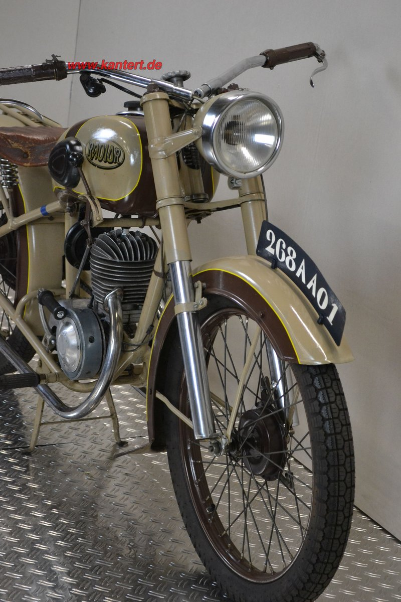 1950 Radior 125 cc, 7 hp, 2 stroke, 1 zyl For Sale (picture 3 of 6)