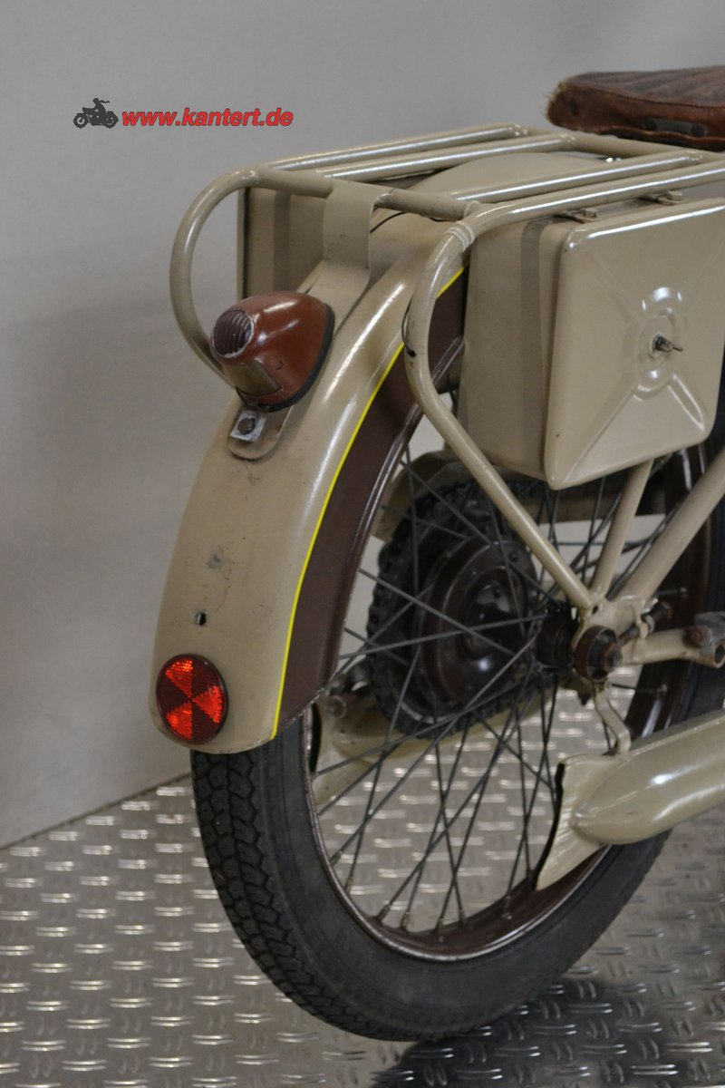 1950 Radior 125 cc, 7 hp, 2 stroke, 1 zyl For Sale (picture 4 of 6)