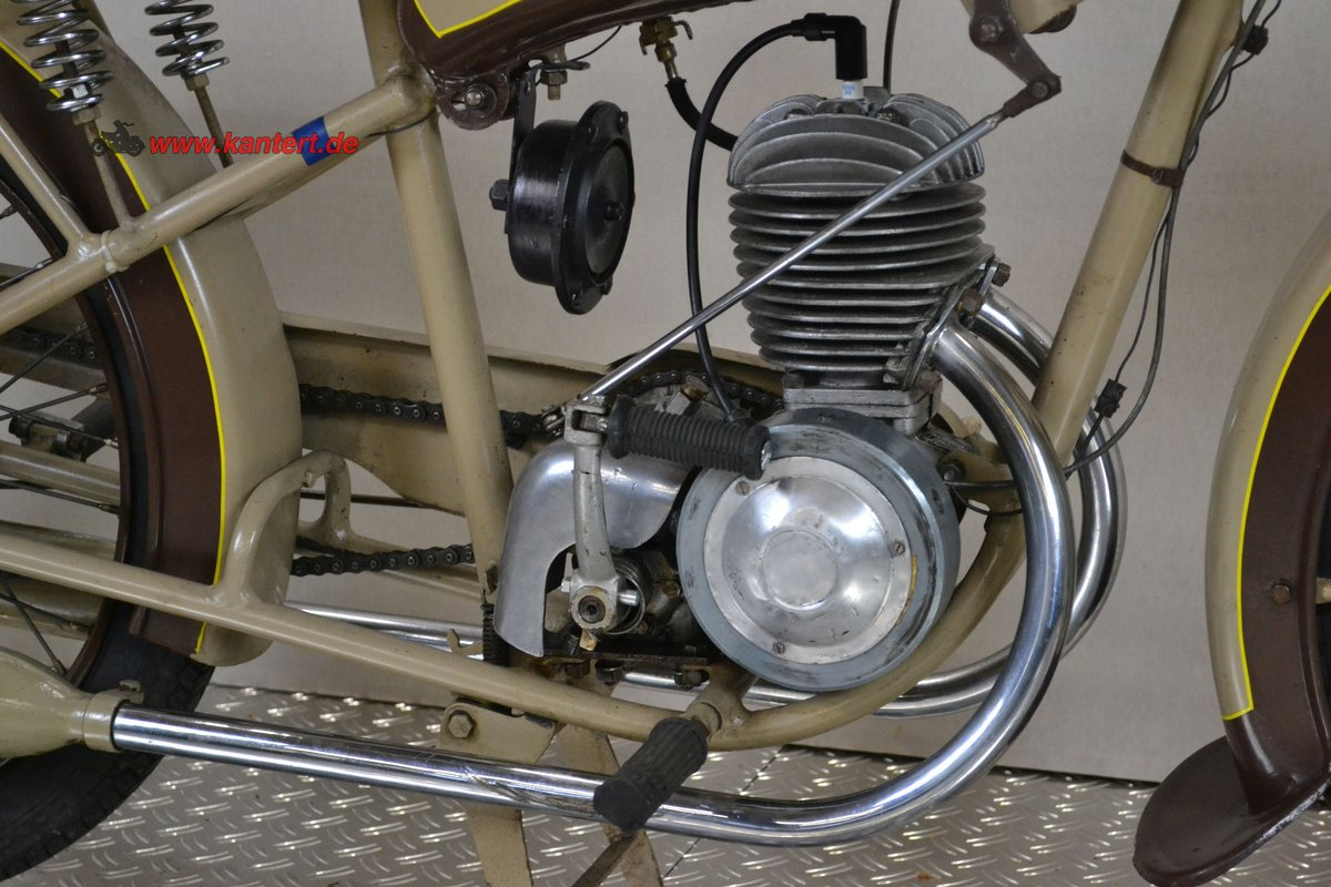 1950 Radior 125 cc, 7 hp, 2 stroke, 1 zyl For Sale (picture 5 of 6)