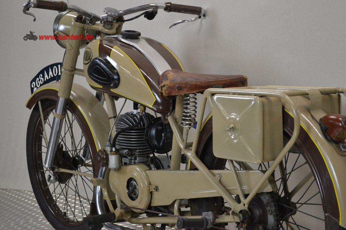 1950 Radior 125 cc, 7 hp, 2 stroke, 1 zyl For Sale (picture 6 of 6)