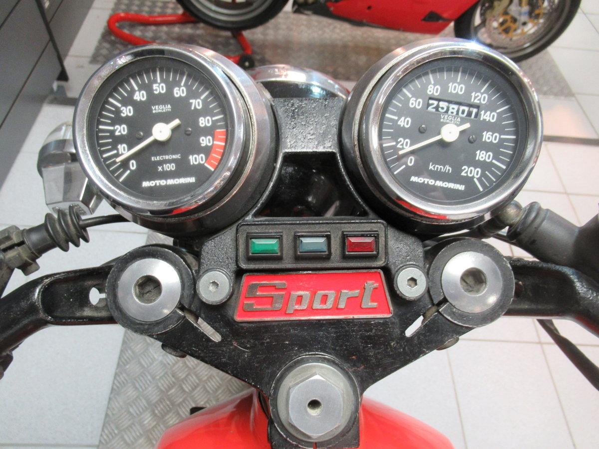 1980 Moto Morini 3 1/2 Sport For Sale (picture 4 of 6)