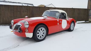 1960 MGA Fixedhead Coupe Rally Car: 16 Feb 2019 For Sale by Auction