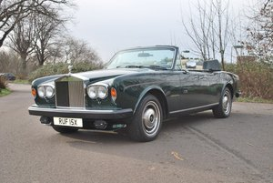 1982 Rolls-Royce Corniche Convertible: 16 Feb 2019 For Sale by Auction