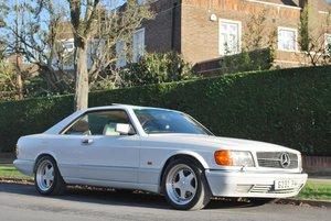 1990 Mercedes-Benz 1000/560 SEC: 16 Feb 2019 For Sale by Auction