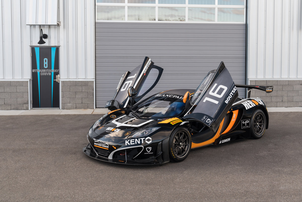 2012 McLaren MP4-12C GT3 For Sale (picture 1 of 6)