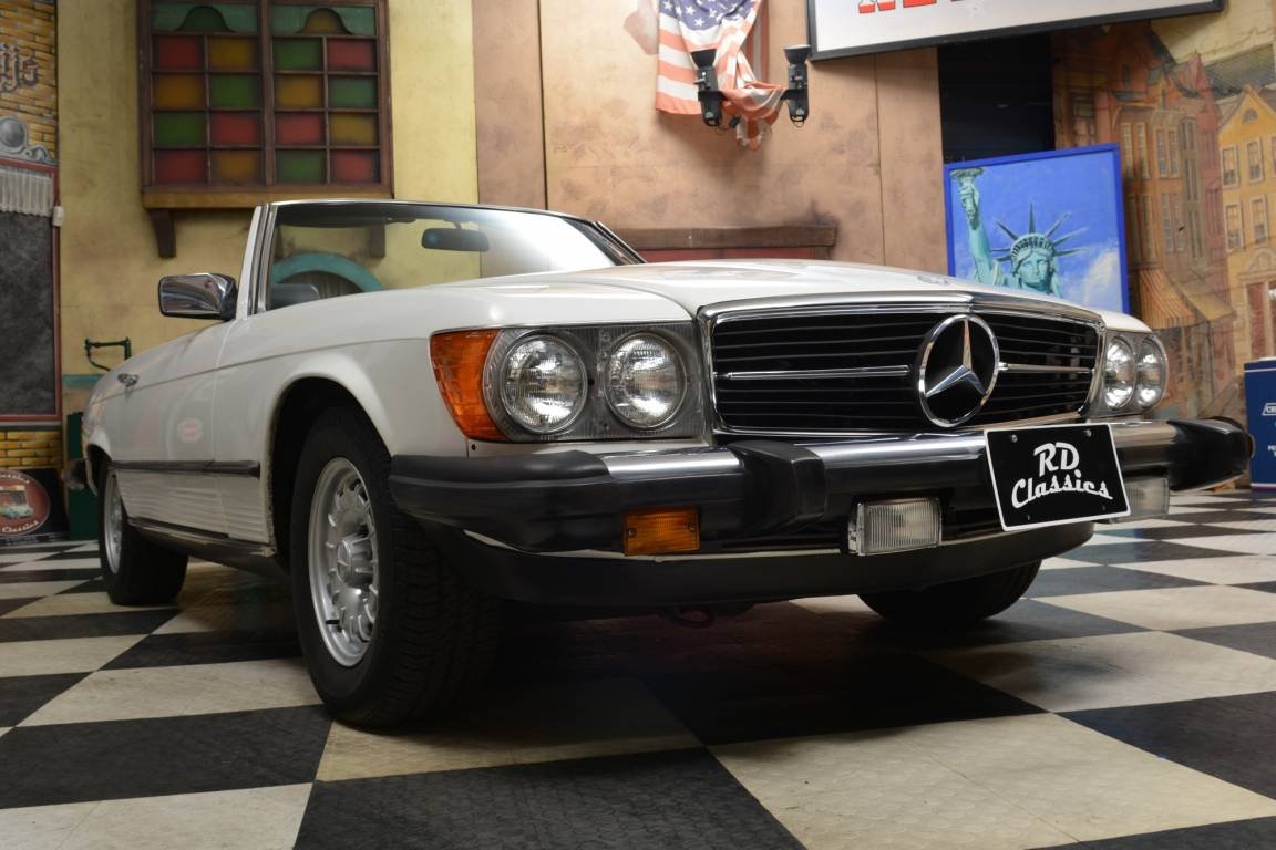 1983 Mercedes-Benz 380 SL Convertible For Sale (picture 1 of 6)