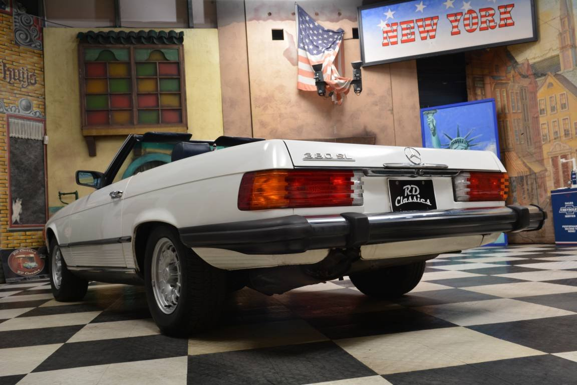 1983 Mercedes-Benz 380 SL Convertible For Sale (picture 2 of 6)