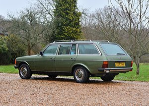 1983 Mercedes-Benz 280 TE Estate 'Seven Seat' SOLD by Auction