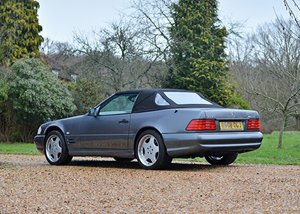 1997 Mercedes-Benz SL 60 AMG SOLD by Auction