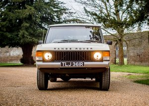 1976 Range Rover Suffix D 'Two-door' SOLD by Auction